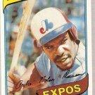 1980 Topps Baseball Card #235 Andre Dawson EX-MT