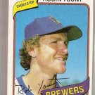 1980 Topps Baseball Card #265 Robin Yount EX-MT