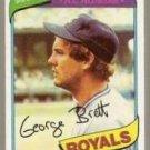 1980 Topps Baseball Card #450 George Brett VG-EX