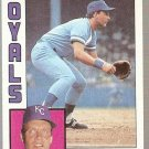 1984 Topps Baseball Card #500 George Brett NM