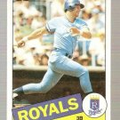 1985 Topps Baseball Card #100 George Brett NM