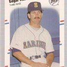 1988 Fleer Glossy Baseball Card #378 Edgar Martinez