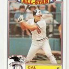 1988 Topps Glossy All-Stars #5 Cal Ripken Baseball Card