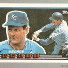 1989 Topps Big Baseball Card #46 George Brett NM