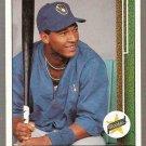1989 Upper Deck Baseball Card #13 Gary Sheffield RC
