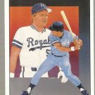 1989 Upper Deck Baseball Card #689 George Brett TC