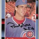 Autographed 1988 Donruss Baseball Card #315 Paul Noce