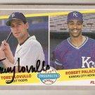 Autographed 1989 Fleer Baseball Card #648 Torey Lovullo