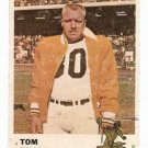 1961 Fleer Football Card #119 Tom Tracy GD