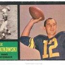 1962 Topps Football Card #77 Zeke Bratkowski GD