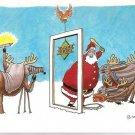 1990 Upper Deck Christmas Card Santa Claus Baseball