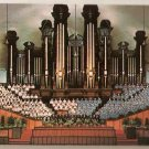 Mormon Tabernacle Choir and Organ World-Famous Postcard