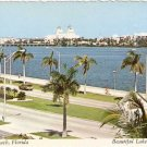 Palm Beach Florida Beautiful Lake Worth Postcard