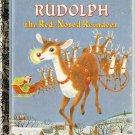Rudolph the Red-Nosed Reindeer Little Golden Books Book
