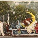 Florida Tampa Children's Gasparilla Festival Postcard
