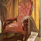 Lincoln Death Chair Greenfield Village Mich. Postcard