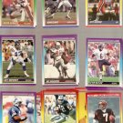1990 Score Football Cards Lot of 38
