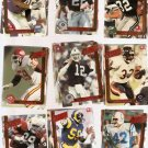 Action Packed Football Cards Lot of 100 1989-1996