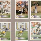 1992 Pacific Steve Largent Football Cards Lot of 6