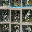 1995 Bowman's Best Football Cards Lot of 17