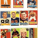 1994 Topps Archives 1956 Football Cards Lot of 11 NM