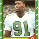 1986 Topps Football Card #275 Reggie White RC Rookie EX-MT B