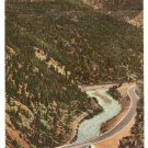 Highway US 40 Clear Creek Canyon Idaho Springs Postcard