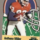1996 Playoff Prime X's and O's Card #8 Anthony Miller