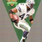 1996 Playoff Contenders Pennants #72 Chris Warren G