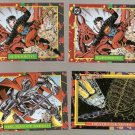 1993 Skybox DC Bloodlines Promo Cards P1 & P4 Lot of 3