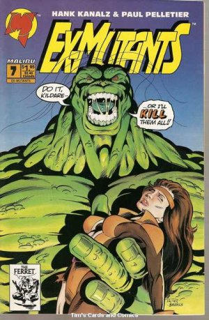 Ex-Mutants (1992 series) #7 Malibu Comics 1993 Fine