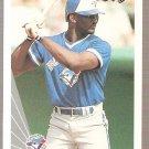 1990 Leaf Baseball Card #396 Mark Whiten RC