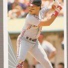1990 Leaf Baseball Card #443 Carlos Baerga RC