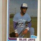 1982 Topps Baseball Card #254 Jorge Bell RC