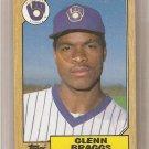 1987 Topps Baseball Card #622 Glenn Braggs RC