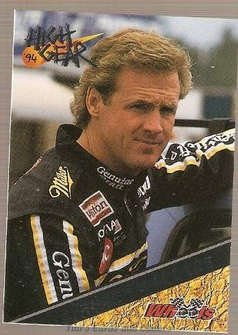 1994 High Gear Promos Racing Card #P2 Rusty Wallace Silver