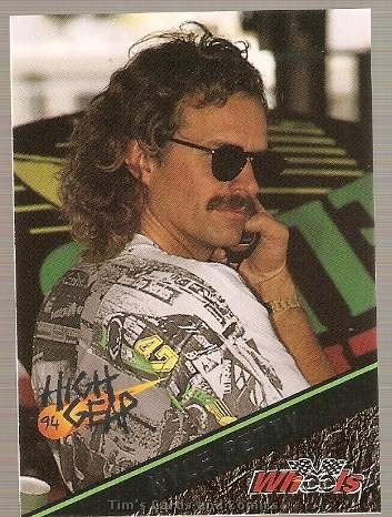 1994 High Gear Promos Racing Card #P3 Kyle Petty Silver