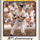1990 Fleer Baseball Card #630 A Will Clark Error