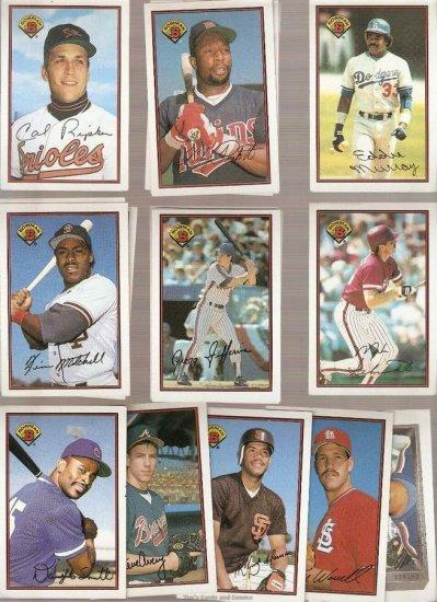 1989 Bowman Baseball Card Lot of 18