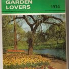 """Salmon's 1974 Garden Lovers 9x6"""" Wirebound Calendar"""