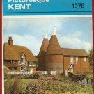 """Salmon's 1976 Picturesque Kent 9x6"""" Wirebound Calendar"""