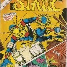 Charlton Action featuring Static #11 Comics 1985 FN