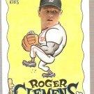 1992 Topps Kids Baseball Card #67 Roger Clemens