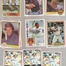 Lot of 26 Andre Thornton Baseball Cards Topps Donruss Fleer
