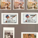 Lot of 7 1989 Bowman Baseball Reprints Mickey Mantle Willie Mays Yogi Berra