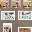 Lot of 7 1989 Bowman Baseball Reprints Mickey Mantle Willie Mays Yogi Berra