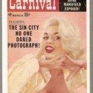 Pocket Pin-Ups Promo Card #2 Jayne Mansfield Carnival