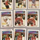 Lot of 21 1988-89 Topps Sticker Inserts Players Cards