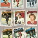 Lot of 32 1976-77 Topps Hockey Cards