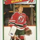 1988-89 Topps Hockey Card #94 Sean Burke RC